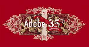 Adobe esta de aniversario